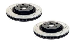 DBA T2 4x4 Slotted Brake Rotor Pair Rear DBA785S