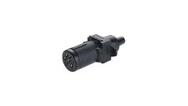 Narva 7 Pin Trailer Plug Small Round 82121BL