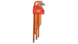 888 By SP Tools Key Set 9Pc Torx Tamper Hex (Orange)